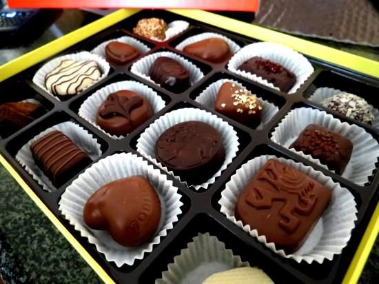 Na terra dos melhores chocolates, entregue-se!