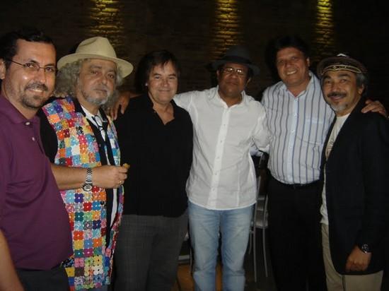 com Jotinha, Rangel, Maciel e Santanna