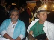 Xico e Geraldo Maia no Festival de Garanhuns