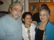 Xico, Dulce e D.Iolanda Dantas, inauguração do Memorial Luiz