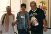 com Marinês e Terezinha, na Rádio JC
