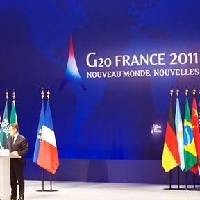 Gestos discute financiamento para a saúde no G20