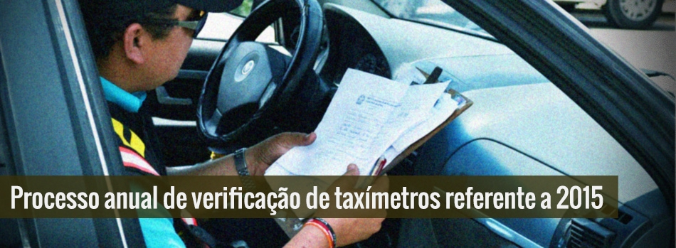 Ipem convoca taxistas da Região Metropolitana do Recife, Agreste e Sertão do Estado.