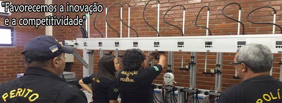 Laboratório de Energia Elétrica do Ipem-PE.