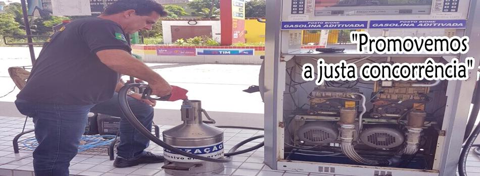 Fiscalização em Postos de Combustíveis.