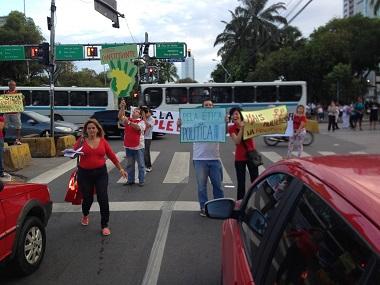 Manifestación por Plebiscito