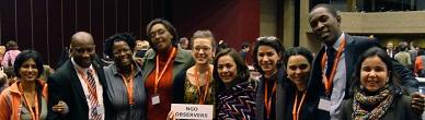 Delegación de ONG-JCP/ONUSIDA