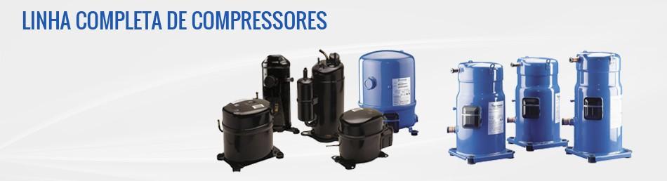 Linhas completa de compressores