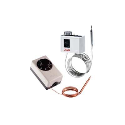 Componentes frigoríficos e controles