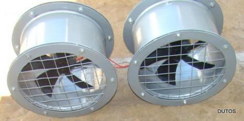 Ventiladores Centrífugos, Axiais e Rotores