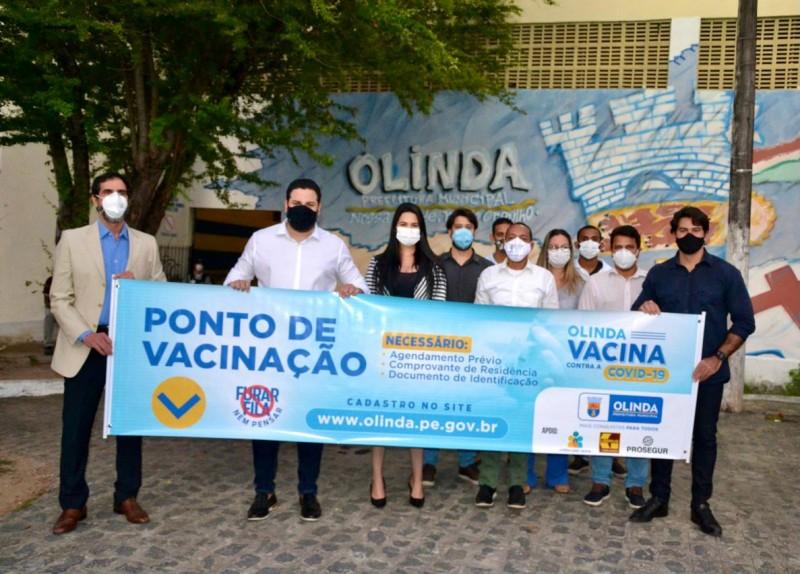 O Grupo Preserve Liserve se une à Prosegur e juntos realizam doação de R$120 mil reais para acelerar vacinação em Olinda