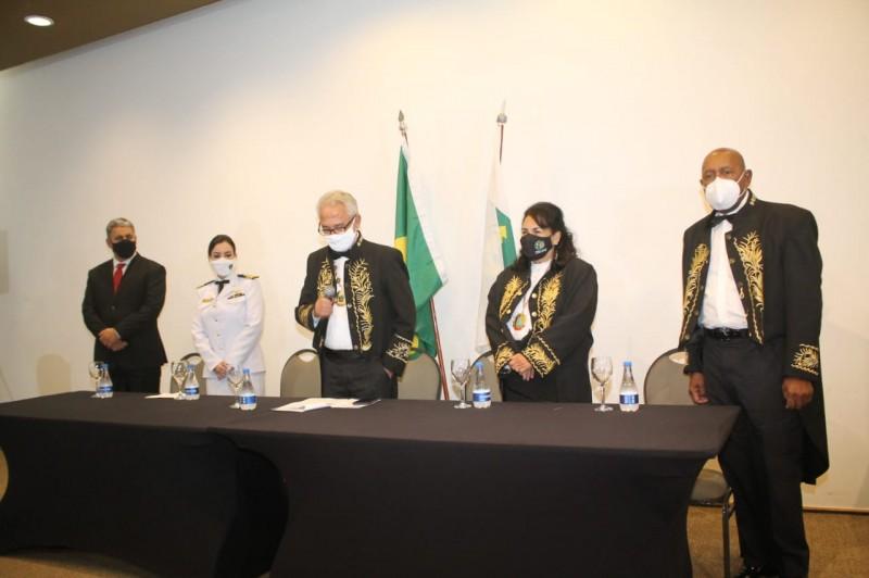 O Prof. MÁRCIO GOMES toma posse como ACADÊMICO IMORTAL da ABRASCI - ACADEMIA BRASILEIRA DE CIÊNCIAS, ARTES, HISTÓRIA E LITERATURA