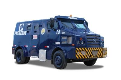 2015 - Modelo atual de carro-forte