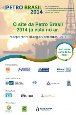 Rio, capital do petróleo. Leste Fluminense, um mundo de oportunidades. O Conteúdo Nacional qualificado da cadeia de petróleo, gás e energia. Niterói 07 a 10 de Abril Inscreva-se