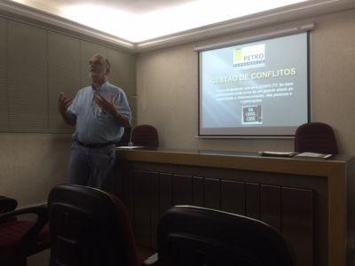 Gestão de Conflitos é tema de palestra na reunião da RedePetro