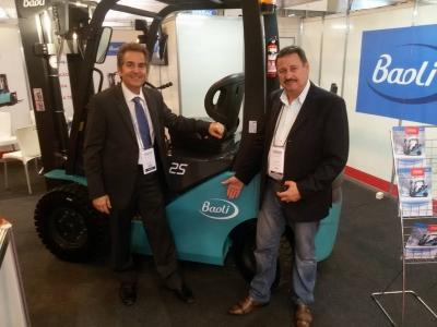 Multylog lança parceria com maior fábrica de empilhadeiras do mundo durante a Mecânica Nordeste 2016