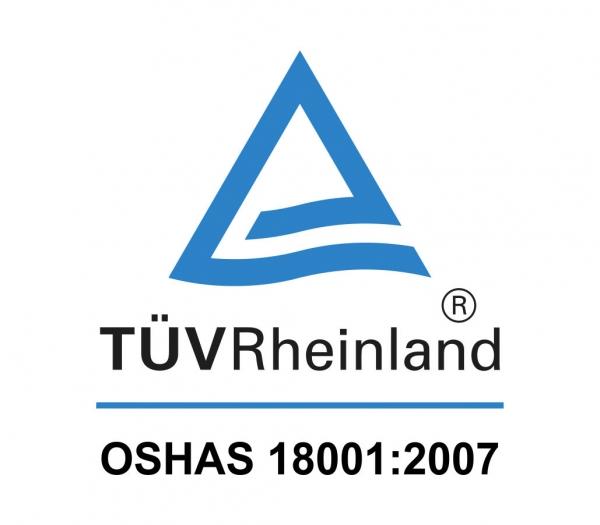 Certificação OSHAS 18001