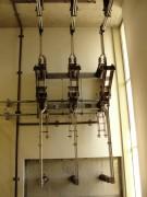 Montagem chaves seccionadoras 34,5KV