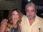 Xico e Elba no lançamento do Balaio de Amor