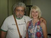 Xico e Flávia Barreto(filha única de Sivuca)