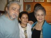 Xico,Dulce e D.Iolanda Dantas