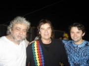 Xico, Rogério Rangel e Roberto Cruz