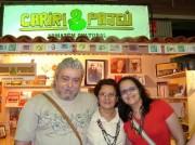 Na Bienal 2009 com Dulce e Mariana