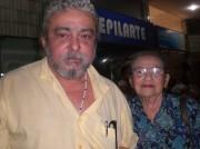 Xico com a mãe D.Myrthes