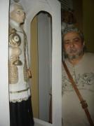 com Meu Padim, outubro 2009